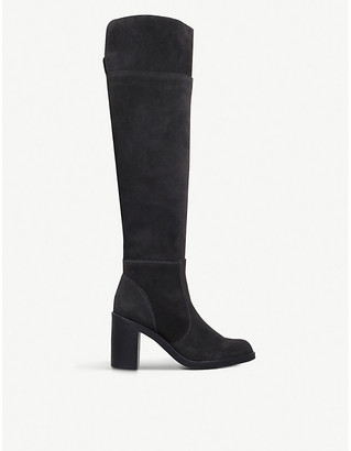 Kurt Geiger Tring suede over-the-knee boots