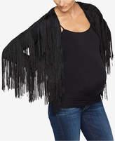 Ella Moss Maternity Fringed Jacket