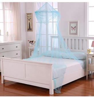 Cottonloft Raisinette Kids Collapsible Hoop Sheer Mosquito Net Bed Canopy