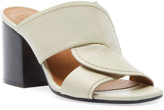 Chloé Candice Leather Slide Sandals