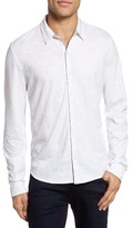 Zachary Prell Men's Camara Trim Fit Knit Sport Shirt