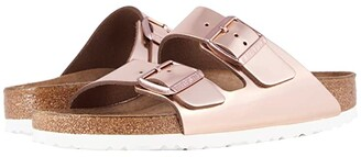 Birkenstock Arizona Soft Footbed (Copper Leather) Women's Dress Sandals