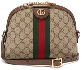 Gucci Ophidia Gg Supreme Cross-body Bag - Womens - Grey Multi
