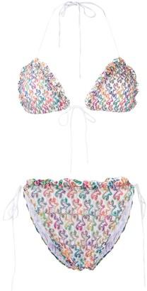 Missoni Mare Abstract Pattern Bikini