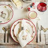 "Sur La Table Jacques Pépin Collection Chickens Linen Table Runner, 108"" x 16"""