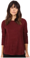 BB Dakota Ryer Textured Knit Button Side Top