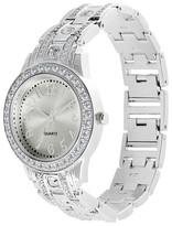 Merona Women's Chain Watch - Silver