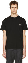 Stone Island Black Small Logo T-shirt