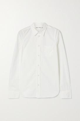 Alex Mill Bobby Cotton-poplin Shirt - White