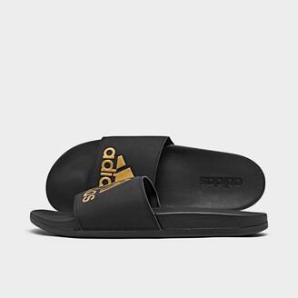 adidas Men's Adilette Cloudfoam Plus Slide Sandals