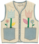 Stella McCartney Sale - Twister Floral Quilted Waistcoat