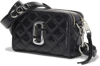 Marc Jacobs The Softshot 21 Quilted Leather Crossbody Bag