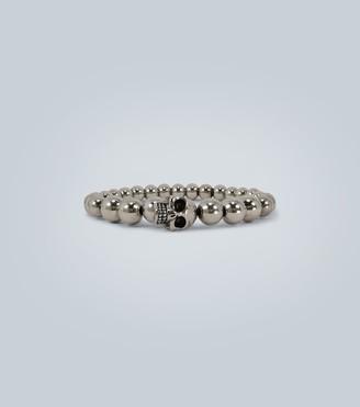 Alexander McQueen Skull multi-beaded bracelet