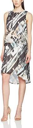 Great Plains Women's Pastel Paint Double Layer Dress,14 (Size:)