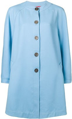 Emanuel Ungaro Pre-Owned Flared Collarless Coat