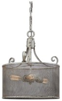 Uttermost Pontoise Three Light Drum Pendant Lamp