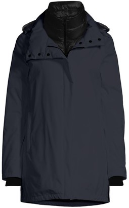 Herno Goretex Two-Ply A-Line Waterproof Windbreaker