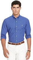 Polo Ralph Lauren Check Poplin Long-Sleeve Woven Shirt