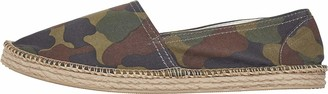 Urban Classics Unisex Adults' Canvas Slipper Espadrille Wedge Sandal