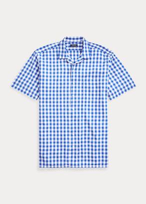 Ralph Lauren Gingham Poplin Camp Shirt
