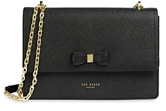 Ted Baker Bow Small Leather Convertible Crossbody