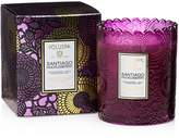 Voluspa Japonica Limited Boxed Scalloped Santiago Huckleberry Candle Pot
