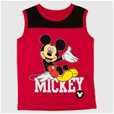 Mickey Mouse Toddler Boys' Mickey Mouse Classy Mickey Tank Top - Red