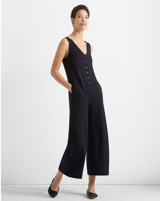 Club Monaco A-Line Knit Jumpsuit