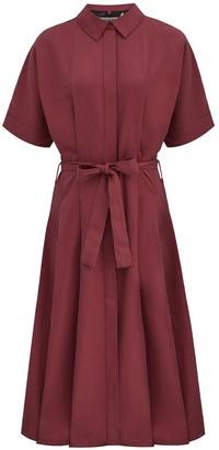 Komodo Ashes Kimono Wrap Dress In Pepper