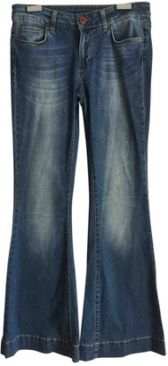 Anine Bing Blue Cotton Jeans for Women