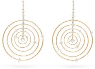 Fernando Jorge Troupe Diamond, Lapis & 18kt Gold Earrings - Gold
