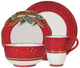 Fitz & Floyd Yuletide 4 Piece Place Setting, Service for 1