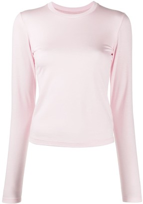 Styland Long Sleeve Jersey Knit Top