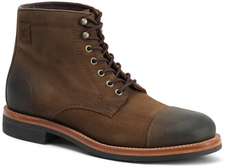 Trask Ike Cap Toe Lace Up Boot