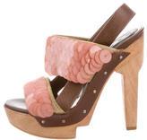 Marni Sequined Platform Sandals
