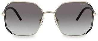 Prada 58MM Square Sunglasses