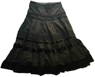 Antonio Marras Black Cotton Skirt for Women