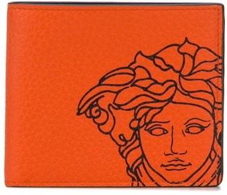 Versace Pop Medusa bifold wallet