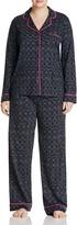 DKNY Intimates Plus Long Pajama Set