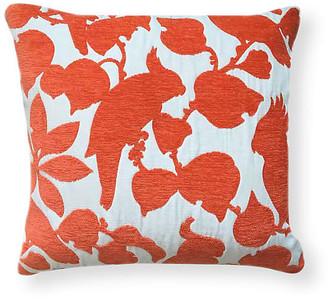 Kim Salmela Emery 20x20 Outdoor Pillow - Orange