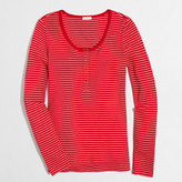 J.Crew Factory Striped waffle henley