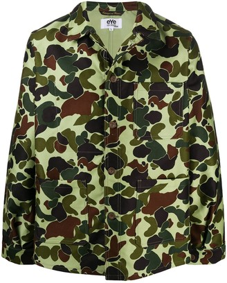 Junya Watanabe Camouflage Shirt Jacket