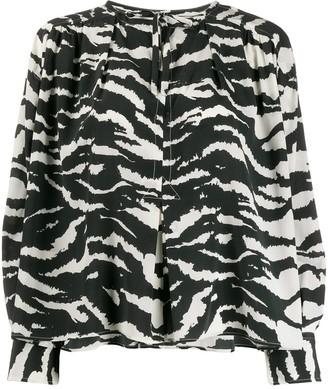 Isabel Marant Printed Tunic Top