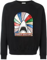 Saint Laurent 'Sweet Dreams' shark patch sweatshirt