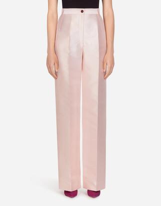 Dolce & Gabbana Flared Mikado Pants