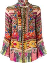 Etro printed blouse - women - Silk - 42