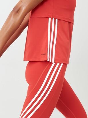 adidas 3S Cap Sleeve Tee - Red
