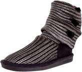 BearPaw Women's Knitallic Mid-Calf Wood Boot - 7M