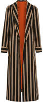 Etro Striped Cady Jacket - Mushroom