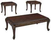 Signature Design by Ashley Florrilyn 3 Piece Coffee Table Set